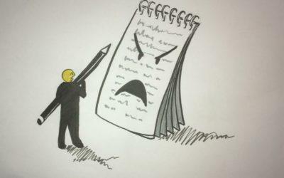 Über die verlorene und wiedergewonnene Lust am Schreiben.