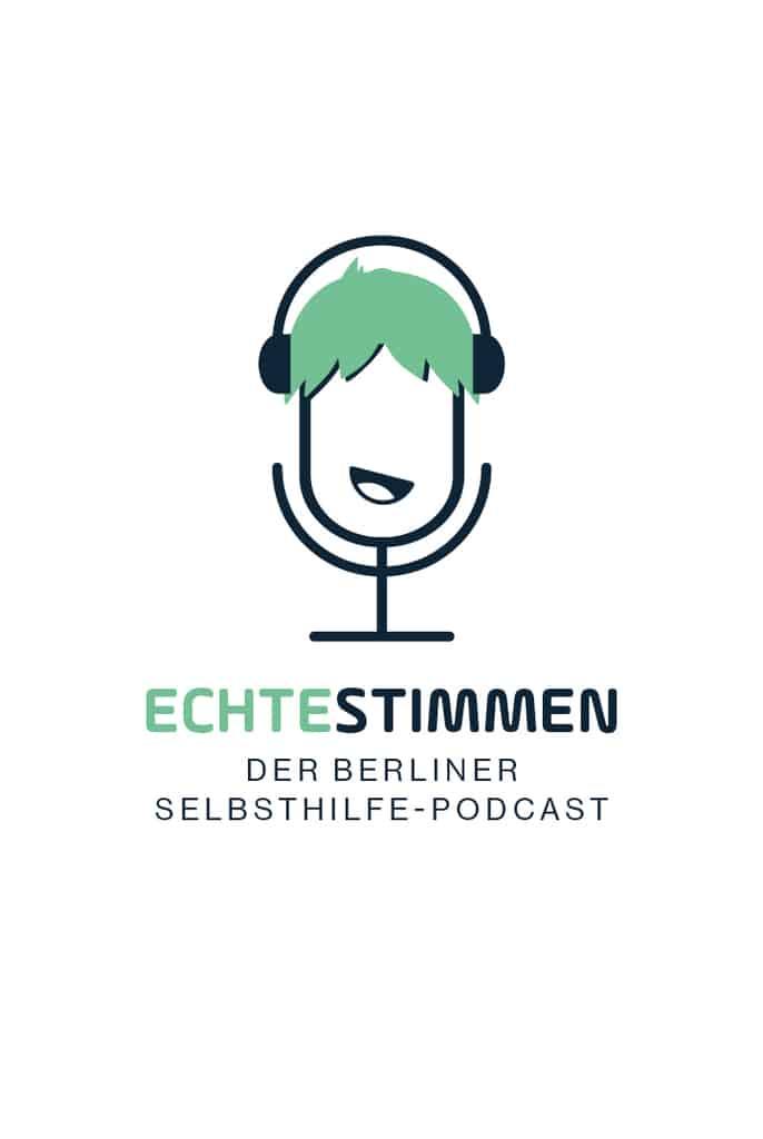 Logo Echte Stimmen Podcast